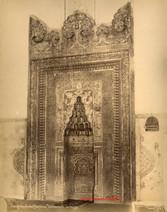 Vue generale du Mihrab du Turbe Vert. Brousse 92. 1890s