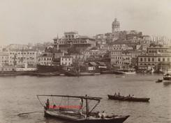 Vue de Galata. 1890s