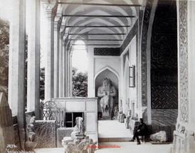 Vestibule du Palais de Faiences 216. 1888
