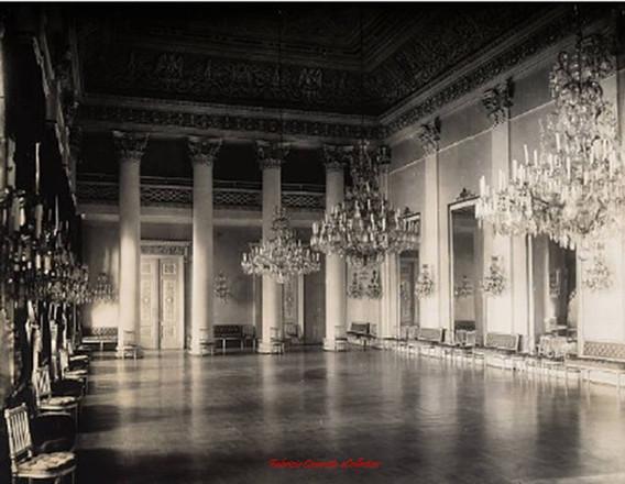 Une salle dans l'Ambassade de Russie. 1900s