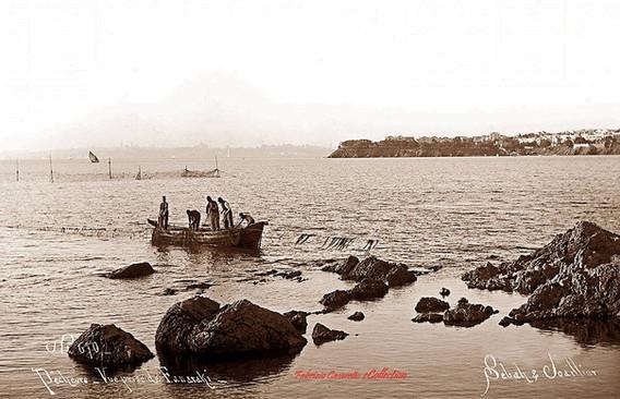 Pecheurs. Vue prise de Fanaraki 670. 1890s