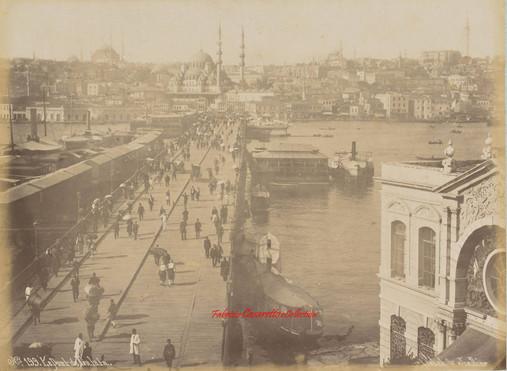 Le Pont de Galata 199. 1890s