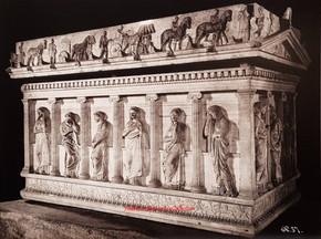 Sarcophage des pleureuses Ensemble 57. 1900s