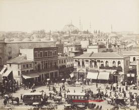 Place Emine Eunu a Stamboul et la mosquee Suleymanie 202. 1890s