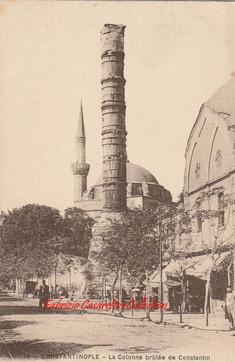 La Colonne brulee de Constantin. 1890s