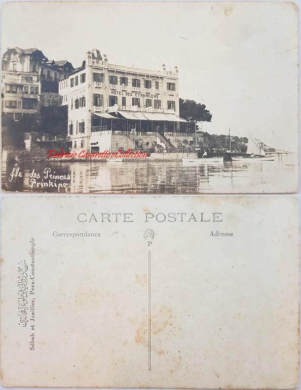 Iles des Princes Prinkipo Hotel des Etrangers. 1890s