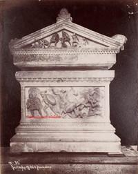 Sarcophage dit d'Alexandre 85. 1900s