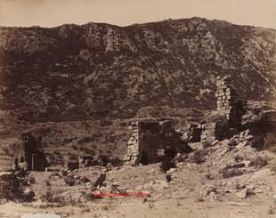 Ruines au pied du Mont Coressos. Ephese 94. 1890