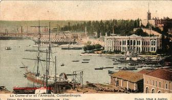 La Corne d'Or et l'Amiraute, Constantinople. 1900s