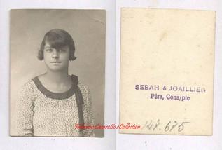 Une jeune femme. 1910s