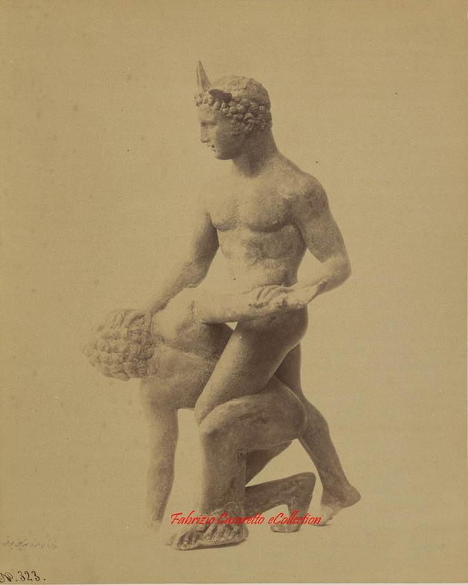 Sculpture des lutteurs Faunes et Satyres 323. 1900s