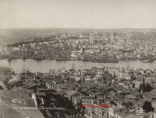 Vue panoramique de Pera et de Galata 52. 1890s