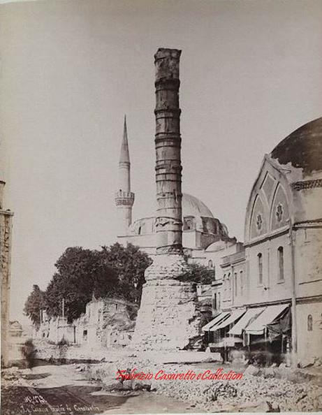 La Colonne brulee de Constantin 173. 1890s