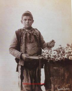 Marchand d'ails. 1890s
