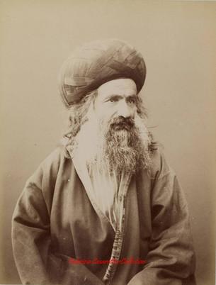Un pretre au turban. 1880s