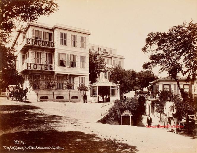 Iles des Princes. L'Hotel Giacomo a Prinkipo 4. 1890s