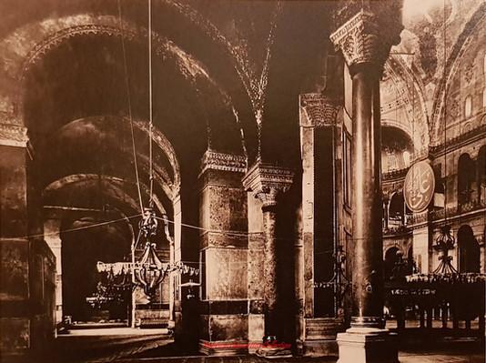 Ste Sophie couloir cote nord. 1890s