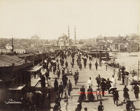 Le pont de Galata 42. 1890s