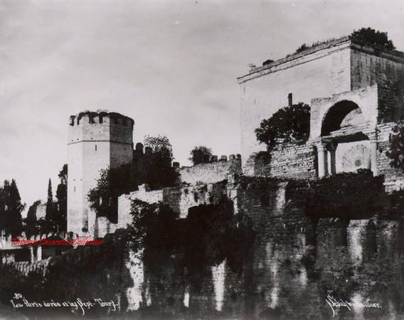 La Porte Doree et les Sept Tours 80. 1890s