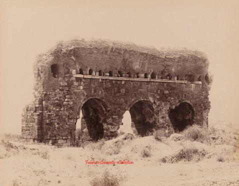 Ruines du gymnase antique. Aidin. 1890