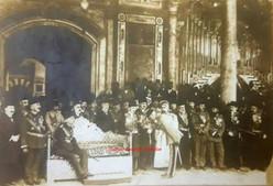 Sultan Vahdeddine, ceremonie de fidelite. 1900s