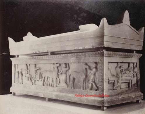 Sarcophage du Satrape (de Sidon). Ensemble 71. 1900s