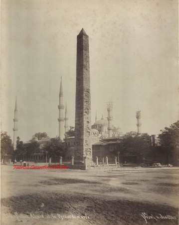 Sultan Ahmed et la Pyramide Muree 158. 1890s
