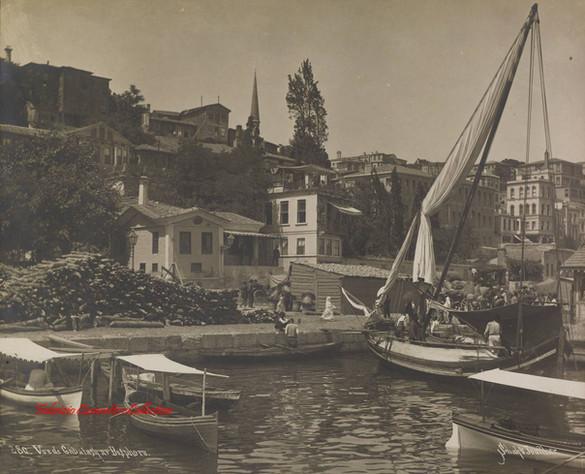 Vue de Gabatash au Bosphore 280. 1890s