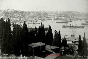 Vue panoramique de Constantinople. Prise de la Corne d'Or 34. 1890s