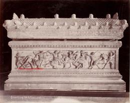 Sarcophage dit d'Alexandre 1. 1900s