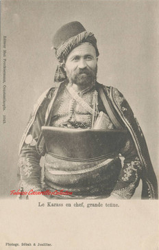 Le Karass en chef, grande tenue. 1890s