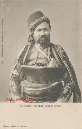 Le Karass en chef, grande tenue. 1890s