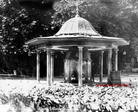 Fontaine de la Mosquee d'Eyoub Sultans. 1890s