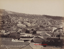 Vue generale de l'Acropole, prise de l'Eglise Saint Photini. Smyrne 19B. 1890s