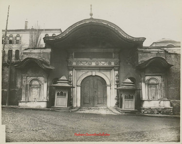 Porte sublime Babali. 1900s
