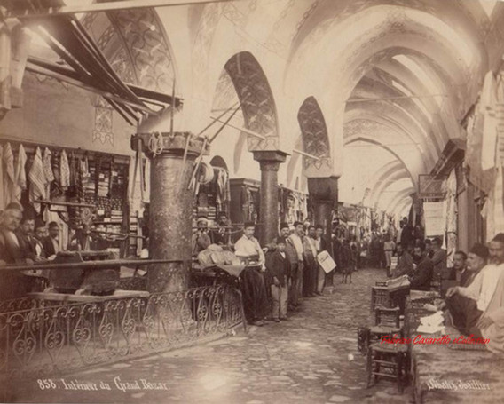 Interieur du Grand Bazar 858. 1890s