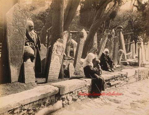Cimetiere turc a Scutari 255. 1890s