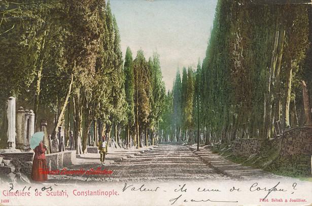 Cimetiere turc a Scutari 1499. 1890s