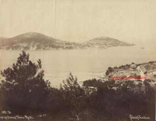 Iles des Princes. Vue de Halki 10. 1890s