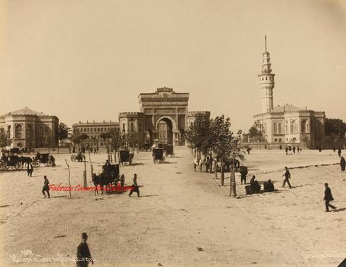 Entree et Tour du Seraskierat 189. 1890s