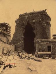 Les Thermes xxx murailles. Pergame 35. 1890s