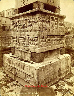 Piedestal de l'obelisque de Theodose 887. 1889