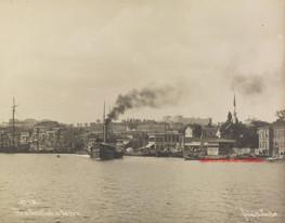 Vue de Bechiktasch au Bosphore 536. 1880s
