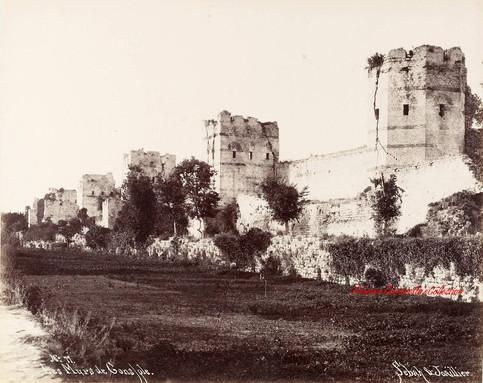 Les Murs de Constantinople 77. 1880s