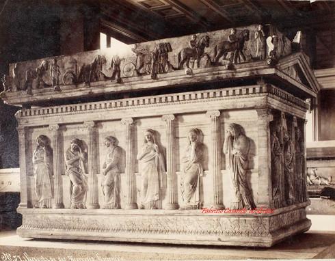 Sarcophage des pleureuses Ensemble 57a. 1900s