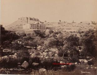 Ruines du Temple de Diane. Ephese 81. 1890