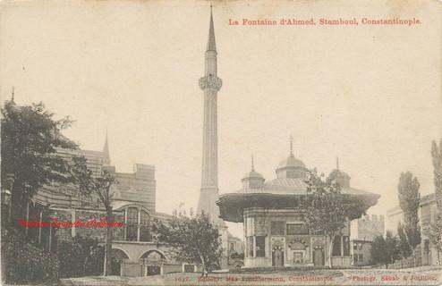 La fontaine d'Ahmed, Stamboul, Constantinople. 1890s