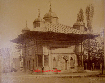 Fontaine du Sultan Ahmed. 1890s