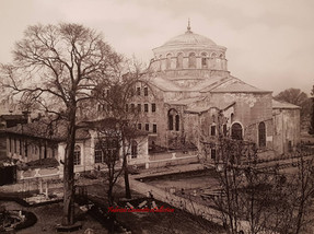 Ste Irene a Constantinople. 1890s