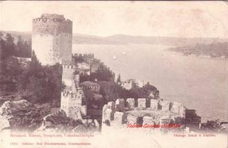 Roumeli Hissar, Bosphore, Constantinople. 1890s